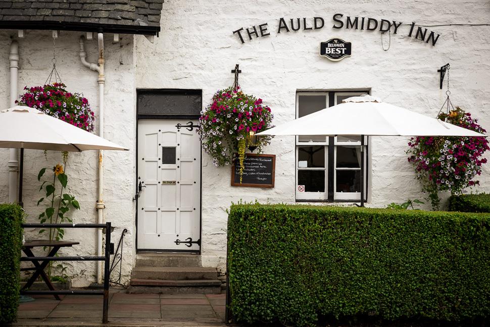 einladender Pub in Pitlochry