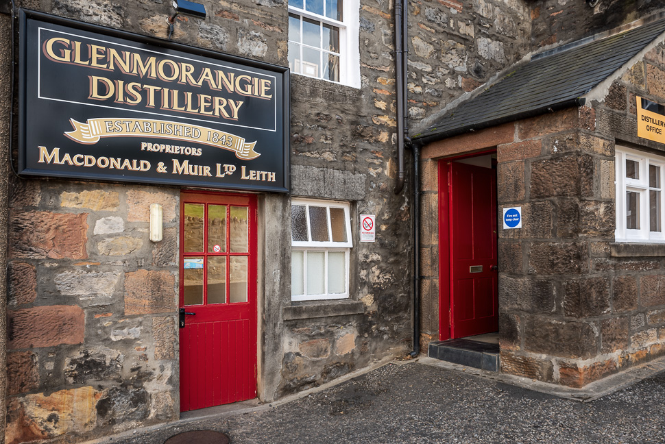 Glenmorangie Destillery am Dornoch Firth
