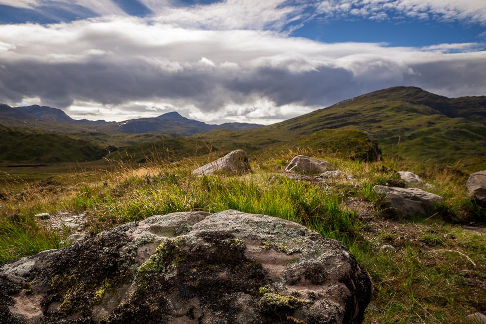 Landschaft zwischen Ullapool und Kyle of Lochalsh