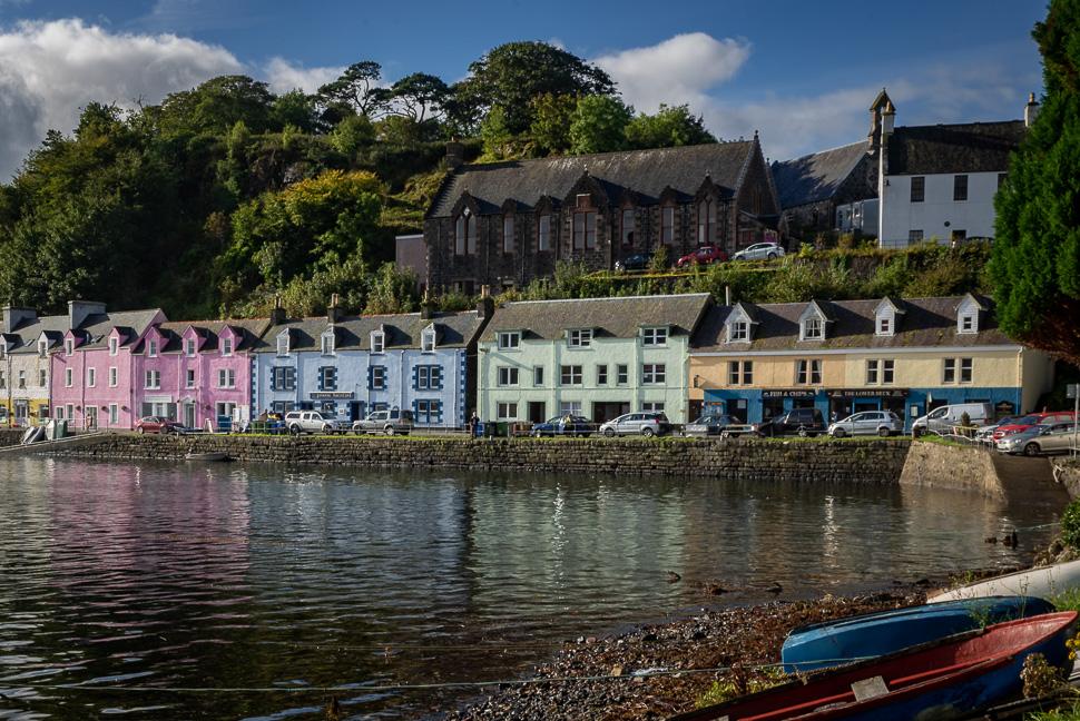 Isle of Skye - Hafen von Portree
