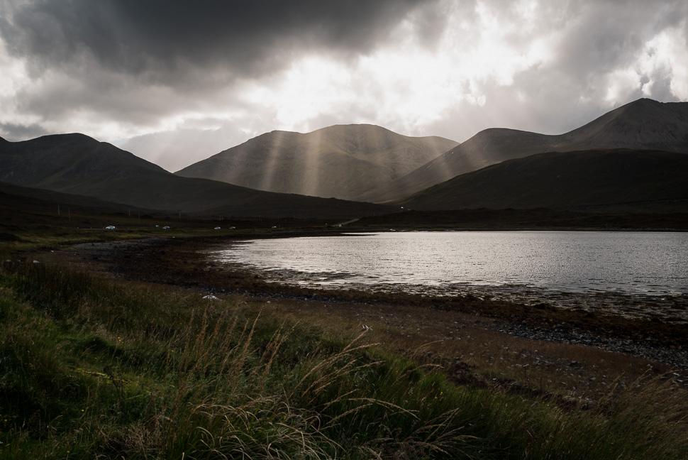 Isle of Skye - Lichtstimmung kurz vor einem Wolkenbruch