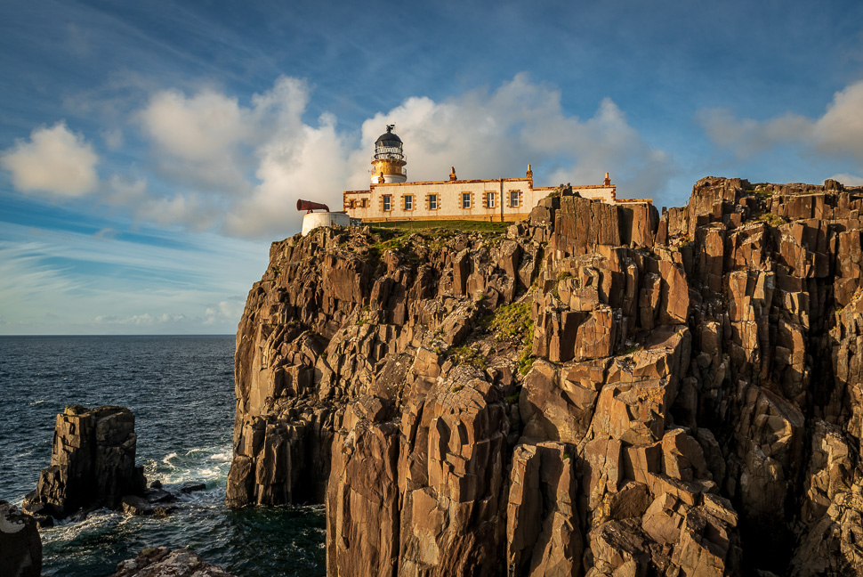 Isle of Skye - Leuchtturm von Neistpoint