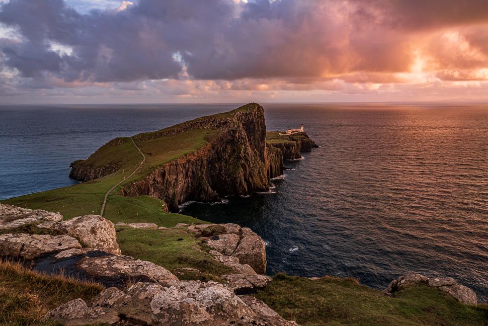 Isle of Skye - Neistpoint im Abendlicht