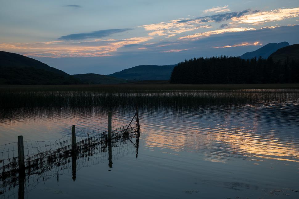 Isle of Skye - Abendstimmung am Wasser
