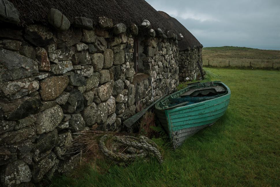 Isle of Skye - Cottage mit Ruderboot