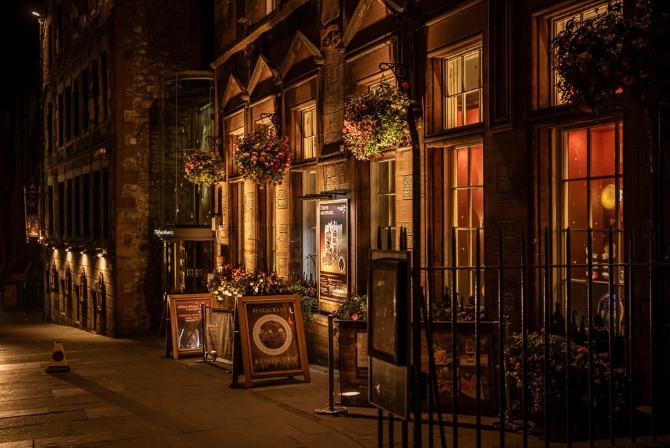 Abend in Edinburgh