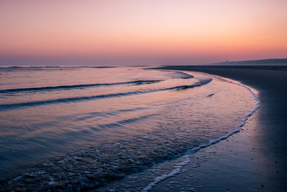 Sonnenaufgang am Strand von Juist