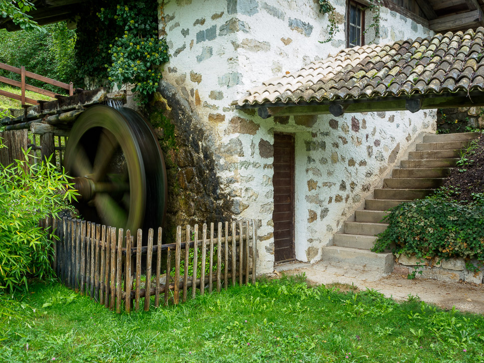 Wassermühle in Tiers in Südtirol
