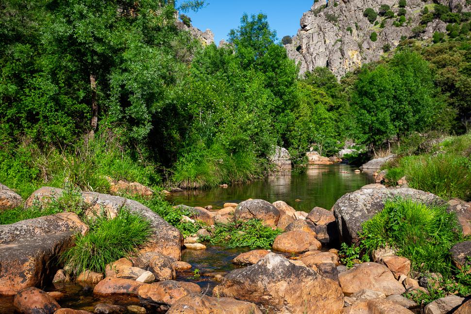 am Oberlauf des Rio Almonte